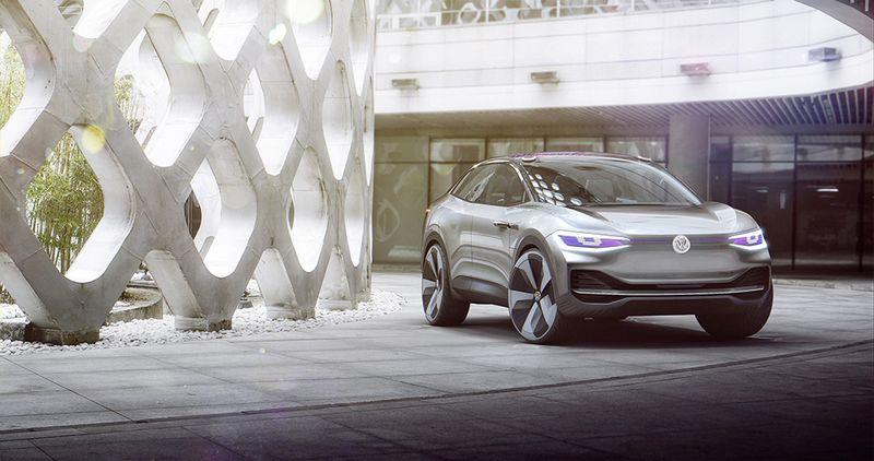 未來的智能電動車   福士I.D. Crozz Concept