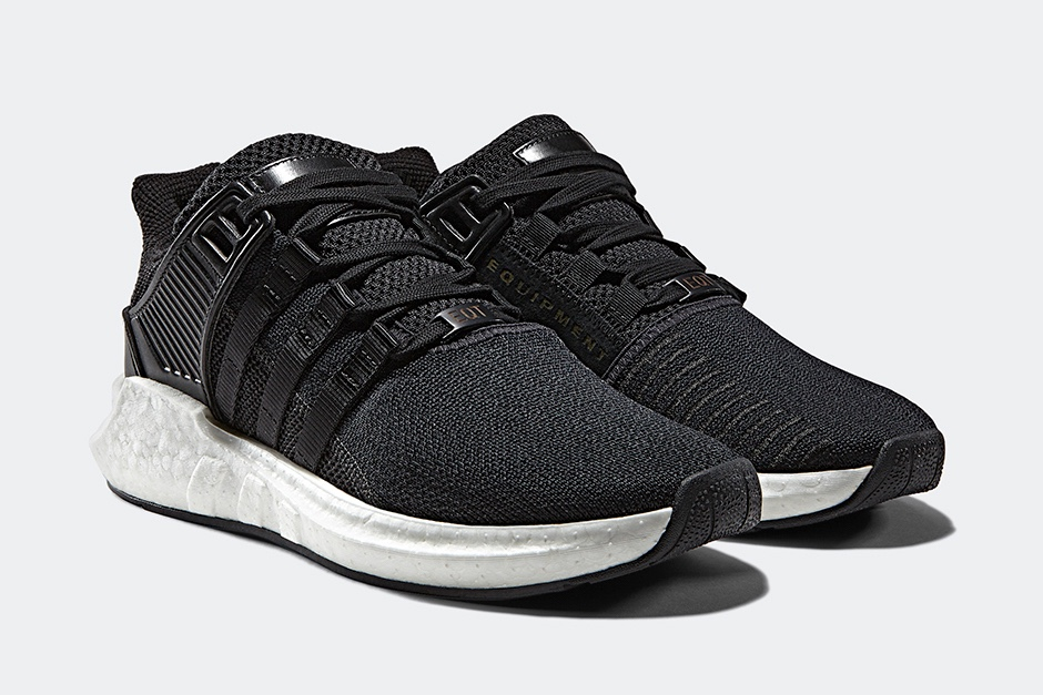 黑白配注入皮革元素!adidas Originals EQT 推 Milled Leather系列