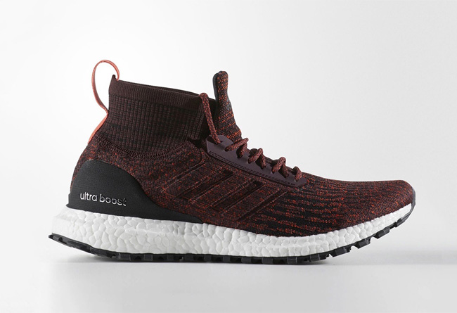 酒紅誘惑!adidas UltraBOOST ATR Mid 「Heather Burgundy」配色率先曝光