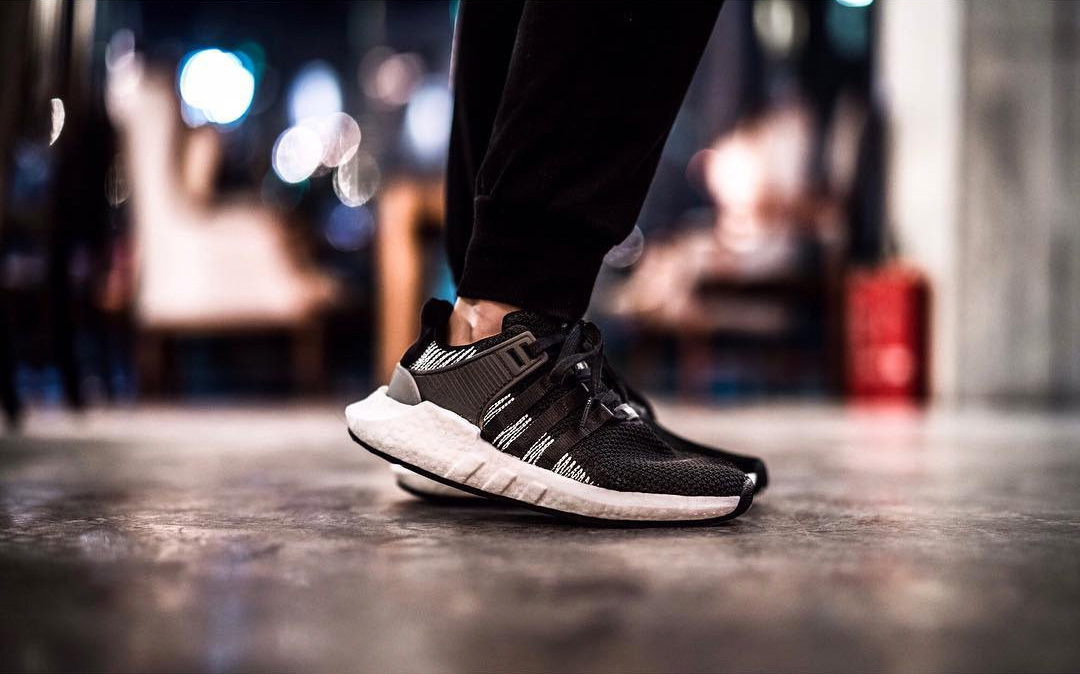 adidas Originals EQT 93/17 黑白新色曝光