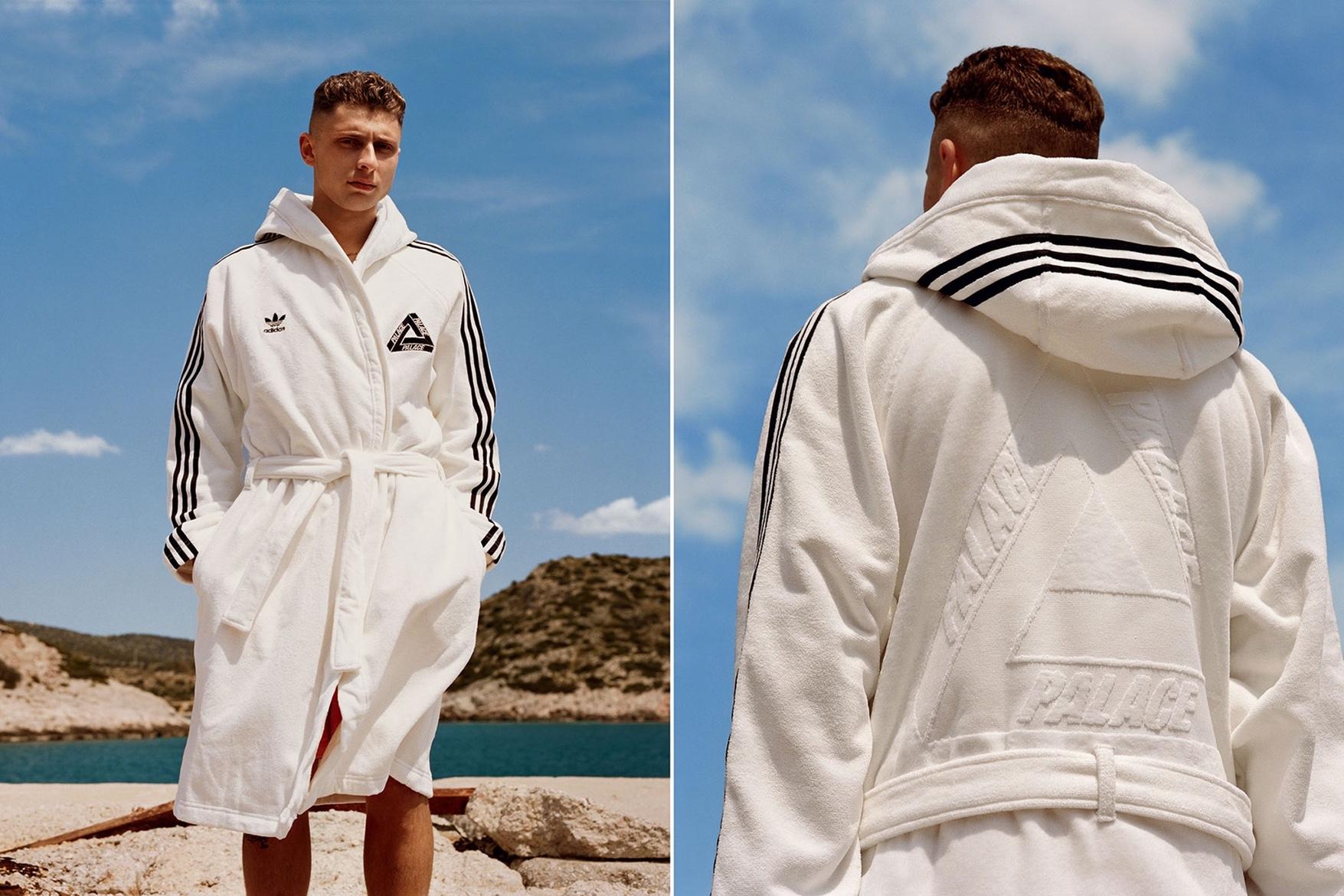 浴袍最搶眼!Adidas Originals X Palace 2017 夏季聯乘系列