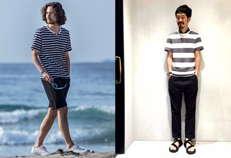 夏日簡約海洋風!4款條紋T恤穿搭