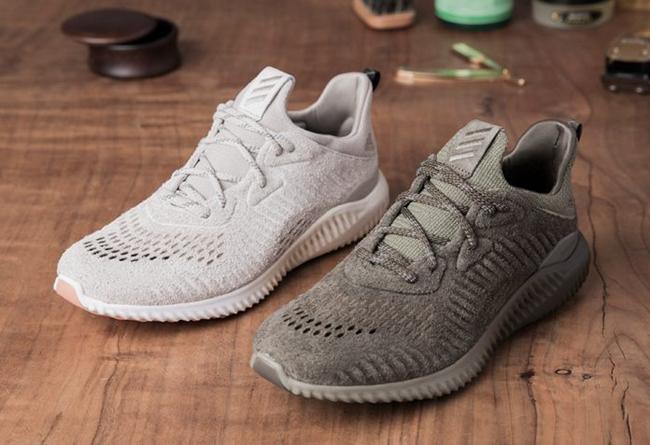 adidas AlphaBOUNCE 「Suede」麂皮融入耀目設計
