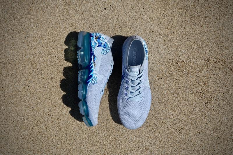 訂製版 Nike Air VaporMax 「VaporWave」融入海洋氣色