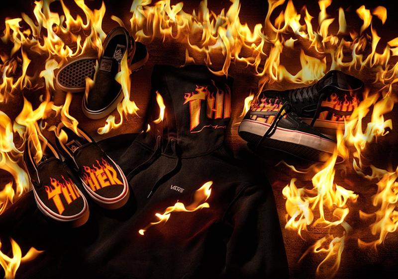 《Thrasher》 x Vans 聯名系列火熱登場