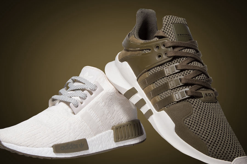 adidas 聯同 Champs 推出「Chalk and Olive」Pack