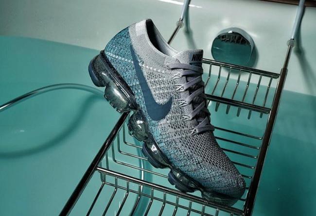 冰涼藍綠 x 酷灰!Nike Air VaporMax 全新配色曝光