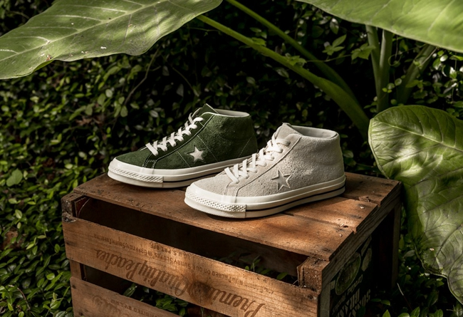 Converse One Star Mid 兩款新配色登場