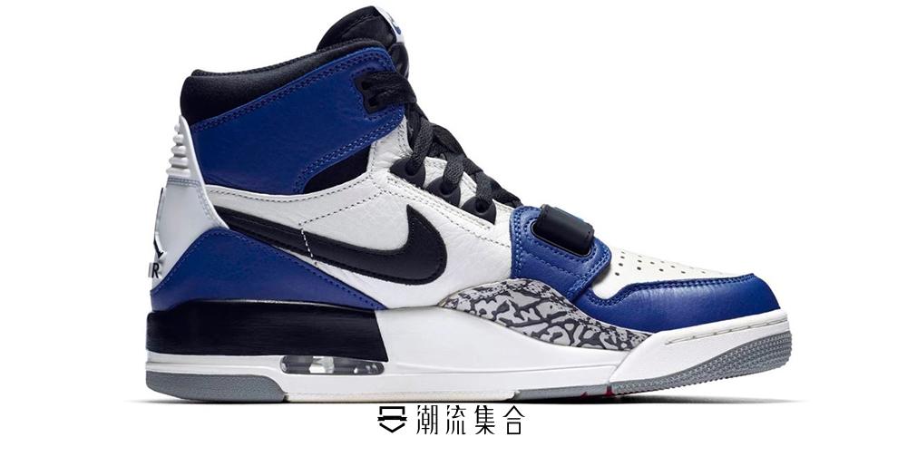 Just Don x Jordan Brand 「Jordan Legacy 312」經典「Storm Blue」設計超獨特!