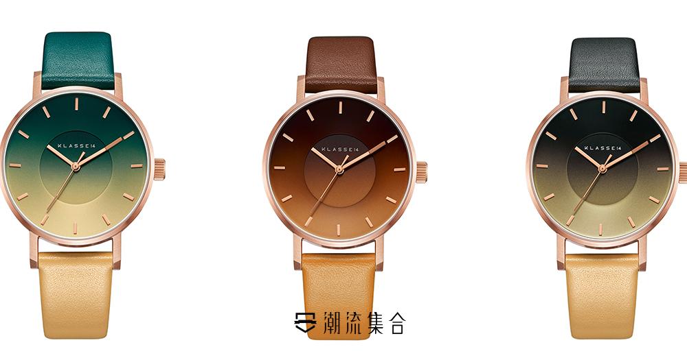 附送專屬水松錶帶!KLASSE14推出全新夏日SEA COLLECTION腕錶系列!